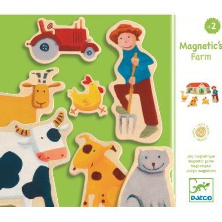jocuri creative, jocuri educative, jucarii lemn, puzzle, ferma, animalute