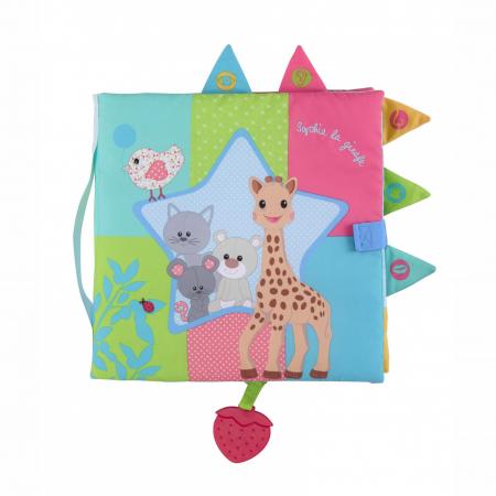 carte senzoriala vulli, vulli, care senzoriala girafa sophie, girafa sophie, carte bebelusi