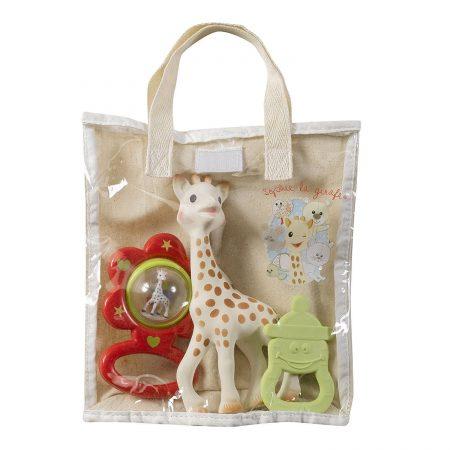 set cadou, girafa Sophie, Vulli, jucarii Vulli