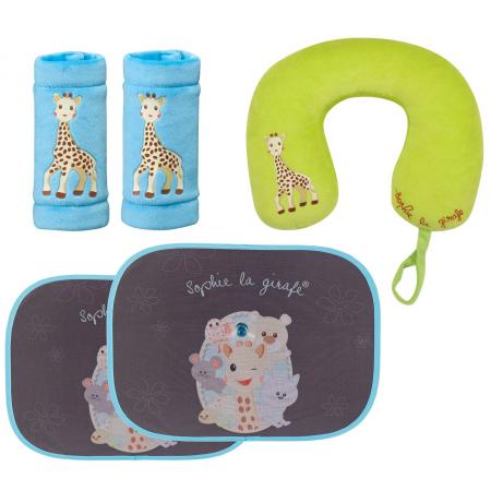 set calatorie girafa sophie vulli, vulli, girafa sophie, set calatorie, calator, accesorii bebelusi, bebelusi, bebe