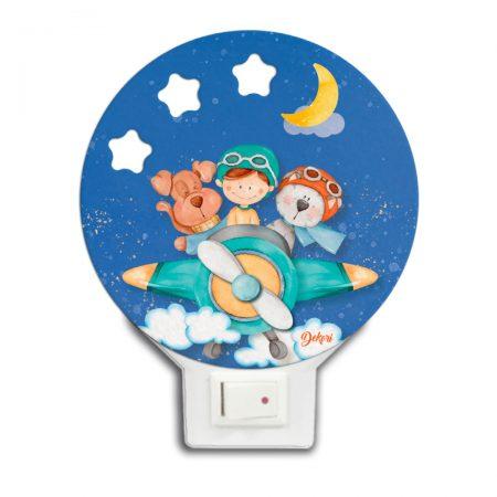 lampa de veghe aviator, lampa de veghe, lapa de veghe copii, aviator