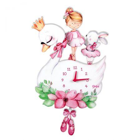 ceas balerina, ceas 3D, ceas balerina 3D, balerina, ceas copii