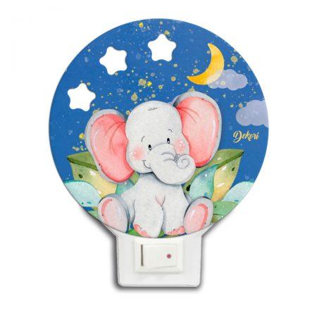 lapa de veghe elefantul dino, elefantul Dino, lampa de veghe elefant, lampa elefant, elefant