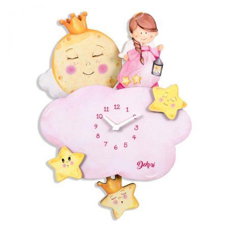 ceas inger, ceas inger 3D, ceas inger roz, ceas roz, inger, ceas copii