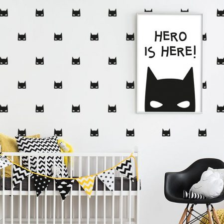 sticker perete, sticker batman
