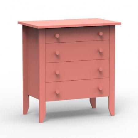 comoda, comoda sertare, comoda roz