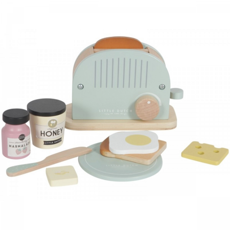 toaster lemn little duth, toaster lemn, little dutc, jucarii lemn little dutch