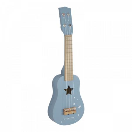 chitara lemn little dutch, instrument muzical little dutch, little dutch, juacrie little dutch, chitara little dutch, chitara albastra